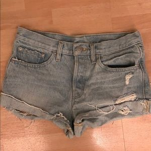 BDG denim shorts urban outfitters